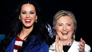 Katy Perry Named A Shoe In Her Footwear Collection After Hillary Clinton
