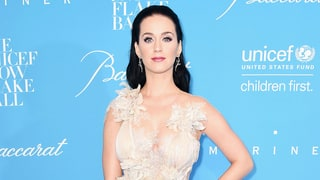 Katy Perry Channels Her Inner Elsa on the Red Carpet With Orlando Bloom