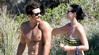 Orlando Bloom Is the Whole Package in Shirtless (and Later, Naked) Pics With Girlfriend Katy Perry