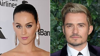 Katy Perry and Orlando Bloom Spend Thanksgiving Together — in Matching Red Pajamas