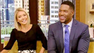Kelly Ripa Responds 'I'm Still Here' After 'Live' Audience Boos Michael Strahan's Exit: Watch