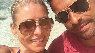 Kelly Ripa Is All Smiles With Husband Mark Consuelos at the Beach Amid 'Live' Drama: See the Exclusive Photo