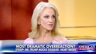 Kellyanne Conway: Meryl Streep's Anti-Donald Trump Golden Globes Speech 'Concerned' Me