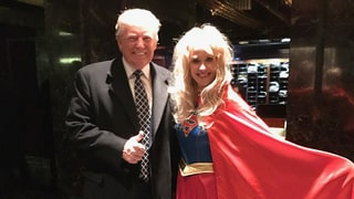Donald Trump Attends 'Heroes and Villains' Costume Party ... Dressed as Himself