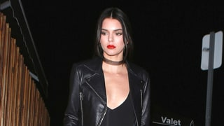 Kendall Jenner Pulls Off High-Waisted Pants, Sneakers for Night Out