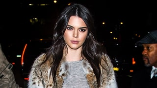 Kendall Jenner Drapes Herself in Fur for the Kendall + Kylie Launch in NYC