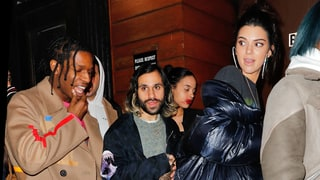 Kendall Jenner Steps Out With A$AP Rocky for New York Fashion Week DJ Gig: Photos