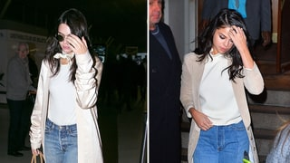 Kendall Jenner, Selena Gomez Mirror Each Other in Nearly Identical Outfits