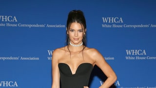 Kendall Jenner Stuns in Low-Cut Black Dress at White House Correspondents' Dinner 2016