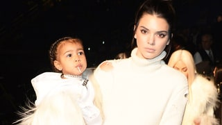 North West and Kendall Jenner