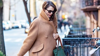 Pregnant Keri Russell Steps Out, Keeps Warm in a Oversize Coat: Photo