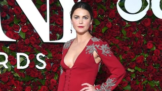 Keri Russell Wows in Plunging Gown at Tony Awards 2016 Two Weeks After Giving Birth