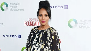 See Pregnant Kerry Washington's Floral Maternity Style on the Red Carpet