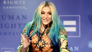 Kesha Gets Emotional While Receiving LGBT Award: 'Don't Be Afraid to Speak Up'