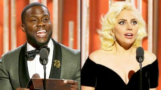 Kevin Hart: I Saved Lady Gaga's Life at the 2016 Golden Globes!