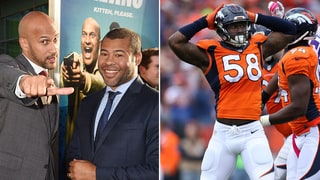 Key and Peele Paid Von Miller's Fine for Imitating 'Three-Pump'