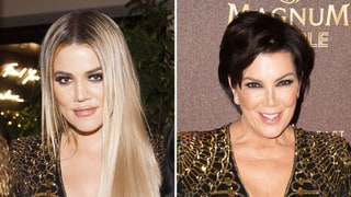 Khloe Kardashian Wears Mom Kris Jenner's Sparkling Mini on Christmas Eve: Who Wore It Best?