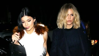 Kylie Jenner Stands Out From Her Sisters in Tight White Dress