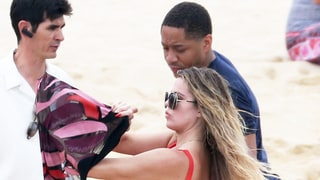Khloe Kardashian 'Flirty and Laughing a Lot' With Tristan Thompson in Mexico