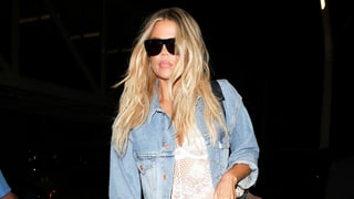 Khloe Kardashian Models the Sexiest Take on the Double-Denim Trend