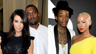 A History of Kanye West's and the Kardashians' Feuds With Amber Rose, Blac Chyna and Wiz Khalifa