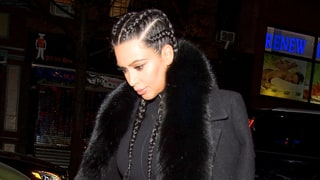 Kim Kardashian Steps Out in Skintight Black Jumpsuit With Kanye West: See the Pics!