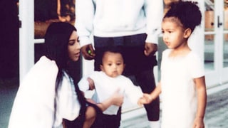 The Story Behind Kim Kardashian's New Instagram Family Photos