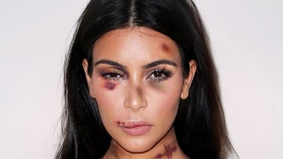 Kim Kardashian, Kendall Jenner Are Battered, Bruised in Domestic Violence PSA Ads