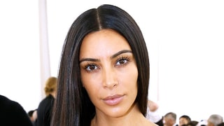 Kim Kardashian Goes Without Makeup at Paris Fashion Week 2016