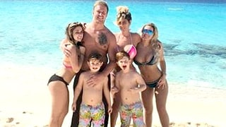 Kim Zolciak Lashes Out at Woman Who Asks Her Kids to Be Quiet on Beach Vacation