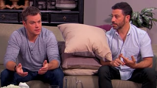 Matt Damon and Jimmy Kimmel Go to 'Court-Ordered' Couples Counseling: Watch the Hilarious Skit