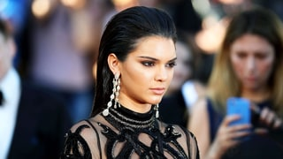 Kendall Jenner's Slicked-Back Hairstyle