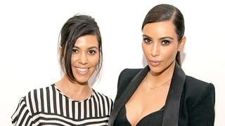 Kim, Kourtney Kardashian Work Out With a Box and Pillows in Iceland: 'Gotta Use What We Can Find!'