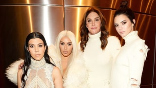 Kourtney and Kim Kardashian, and Caitlyn and Kendall Jenner