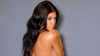 Revisit Kourtney Kardashian's Nude Photo Shoot From Keeping Up With the Kardashians: 'We Need to Plump' My Butt Up