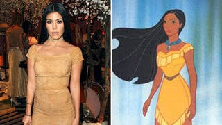 Kourtney Kardashian as Pocahontas