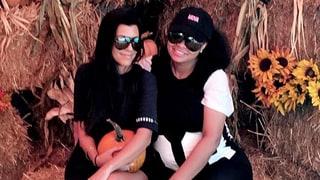 Kourtney Kardashian and Blac Chyna Go Pumpkin Picking With Their Kids