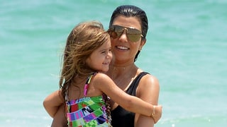 Kourtney Kardashian (in a Swimsuit) and Her Kids Have the Best Time at the Beach: See the Photos