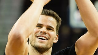 Kris Humphries Was a Faster Swimmer Than Olympians Michael Phelps and Ryan Lochte