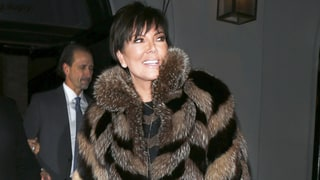 Kris Jenner Channels Cruella de Vil in Floor-Length Fur Coat