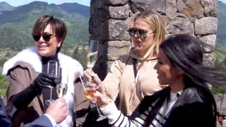 Drunk Kris Jenner, Kourtney and Khloe Kardashian Get Silly in a Torture Chamber: 'This Is Like Fifty Shades of Grey!'