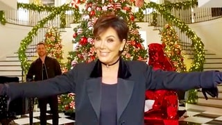 Kris Jenner Gives a Tour of Her Off Over-the-Top Kandyland Christmas Decorations