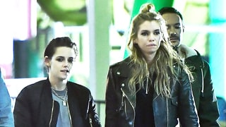 Kristen Stewart and Stella Maxwell Hold Hands, Go on Theme Park Date — See the Pic