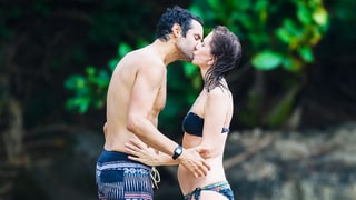 Kristen Wiig Makes Out With Mystery Hottie in Hawaii: Photos
