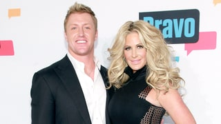 Kim Zolciak's Husband Kroy Biermann Awkwardly Touches Her Breast, Wears Speedo: Photos