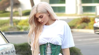 Kylie Jenner Is Kim Kardashian's Clone in This Corset and T-Shirt Combo