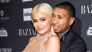 Kylie Jenner, King Cairo Throw Surprise Party for Tyga's Birthday