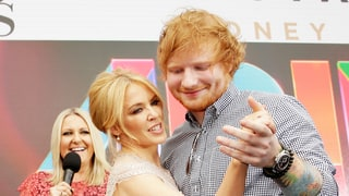 Ed and Kylie Share a Dance!