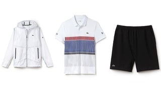 Lacoste Launches Novak Djokovic Line With Three Items He'll Wear at This Year's French Open