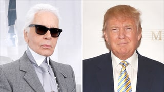 Karl Lagerfeld Says Americans Have To Learn to 'Deal With' Donald Trump